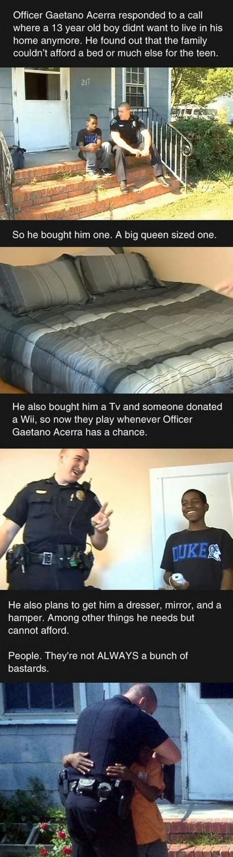 Police Officer Kindness