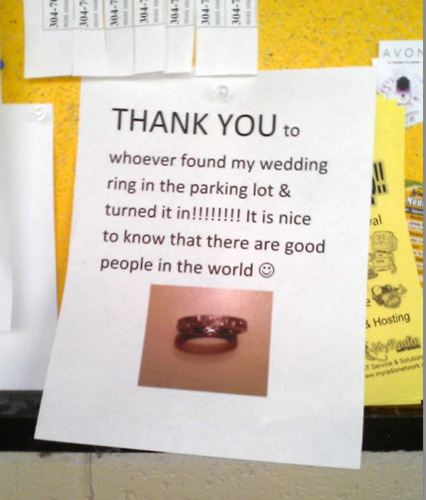 Wedding Ring Kindness