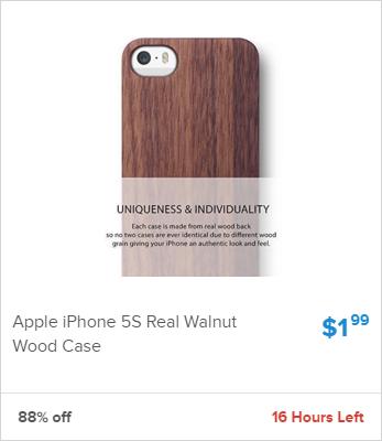 Walnut iPhone Case