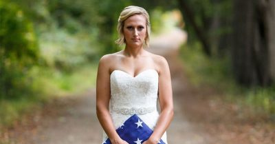 Bride Refuses To Cancel Photo Shoot After Fiancé Is Killed On Duty